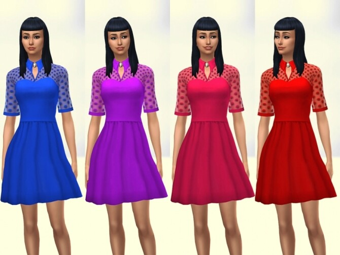 Patty dress by Delise at Sims Artists image 1224 670x503 Sims 4 Updates
