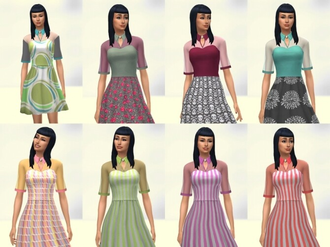 Patty dress by Delise at Sims Artists image 1234 670x503 Sims 4 Updates