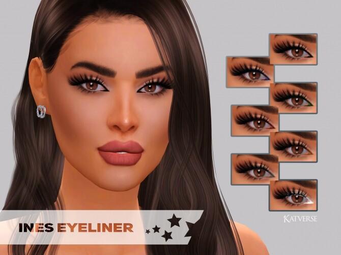 Ines Eyeliner at Katverse image 12418 670x502 Sims 4 Updates