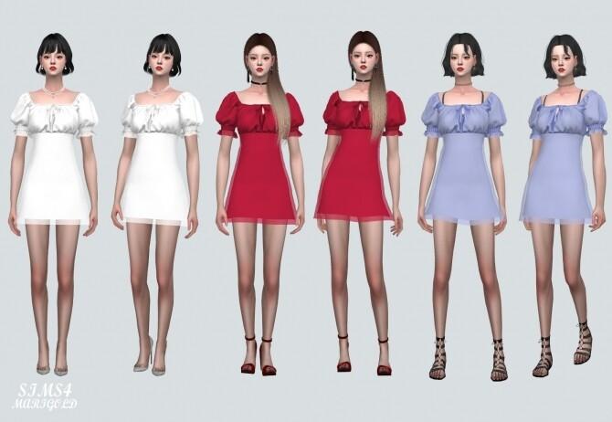 Sims 4 Summer Mini Dress at Marigold