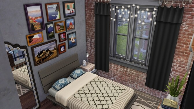 Sims 4 BROOKLYN APARTMENT at Aveline Sims
