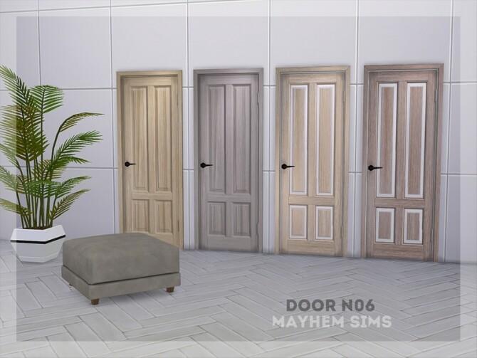 Sims 4 Door N06 by mayhem sims at TSR