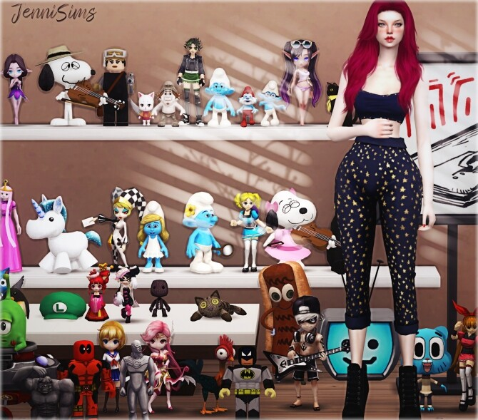 Sims 4 CLUTTER Babes In Toyland 41 ITEMS at Jenni Sims