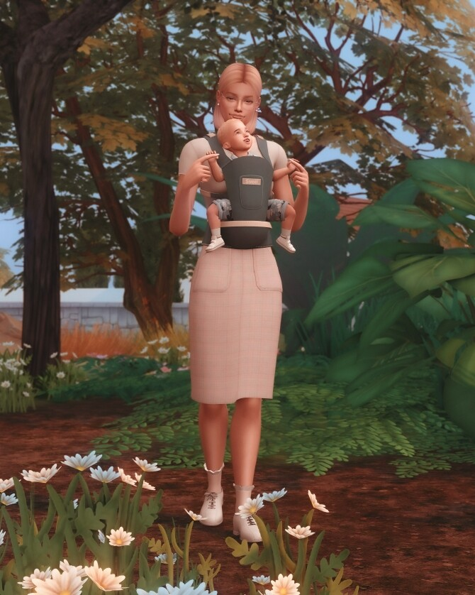 Baby Carrier Poses at Katverse image 12916 670x838 Sims 4 Updates