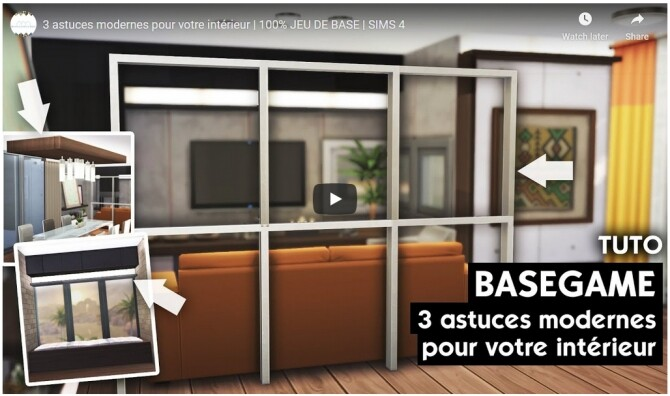 Sims 4 3 modern tips for your interior at DH4S