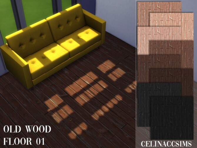 Old wood floor 01 at Celinaccsims image 1298 670x503 Sims 4 Updates