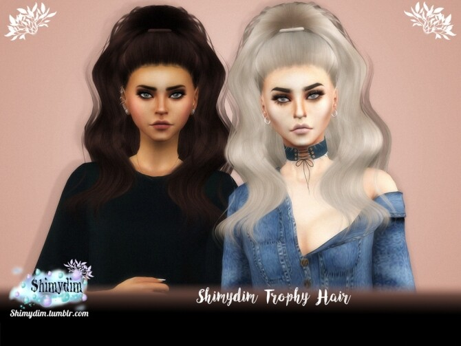 Trophy Hair Ombre Naturals Unnaturals at Shimydim Sims image 13018 670x503 Sims 4 Updates