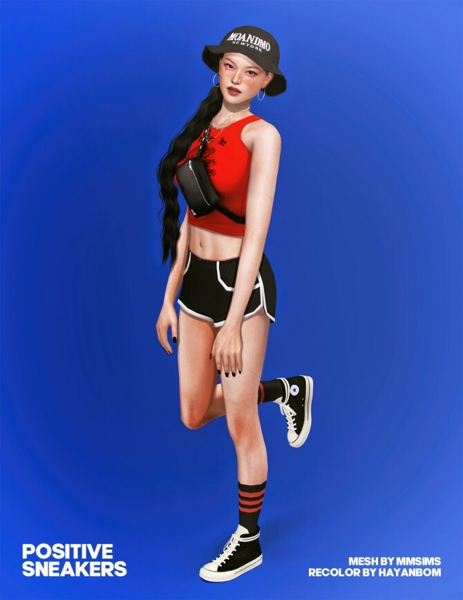 POSITIVE SNEAKERS at Hayanbom image 13118 670x867 Sims 4 Updates