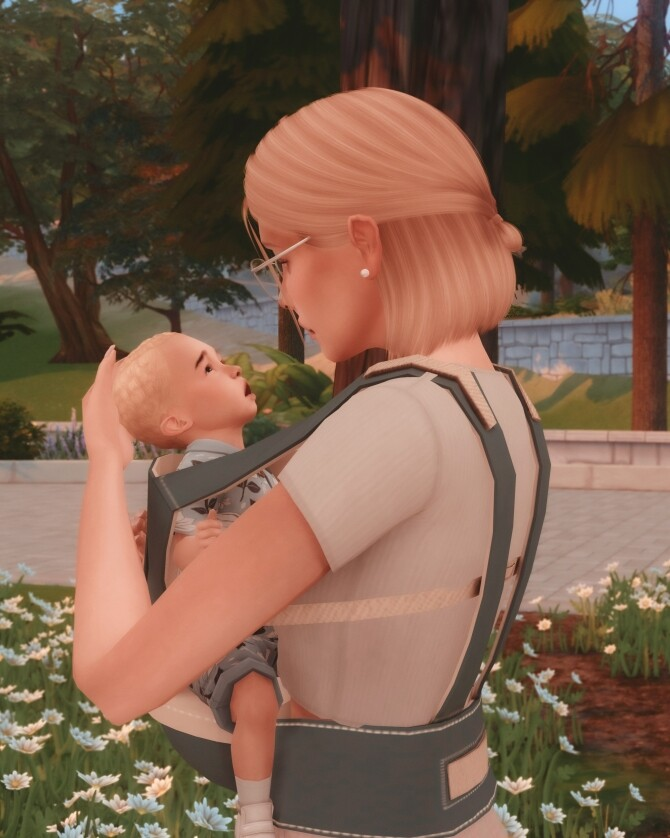Baby Carrier Poses at Katverse image 13122 670x838 Sims 4 Updates