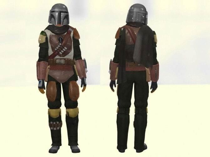 The Mandalorian outfit + helmet by Delise at Sims Artists image 1315 670x502 Sims 4 Updates