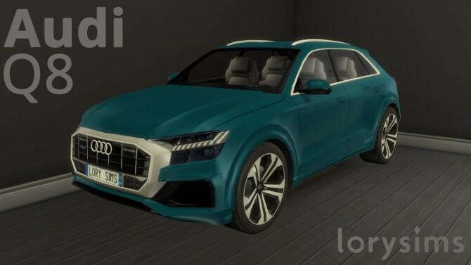 Audi Q8 at LorySims image 1322 670x377 Sims 4 Updates