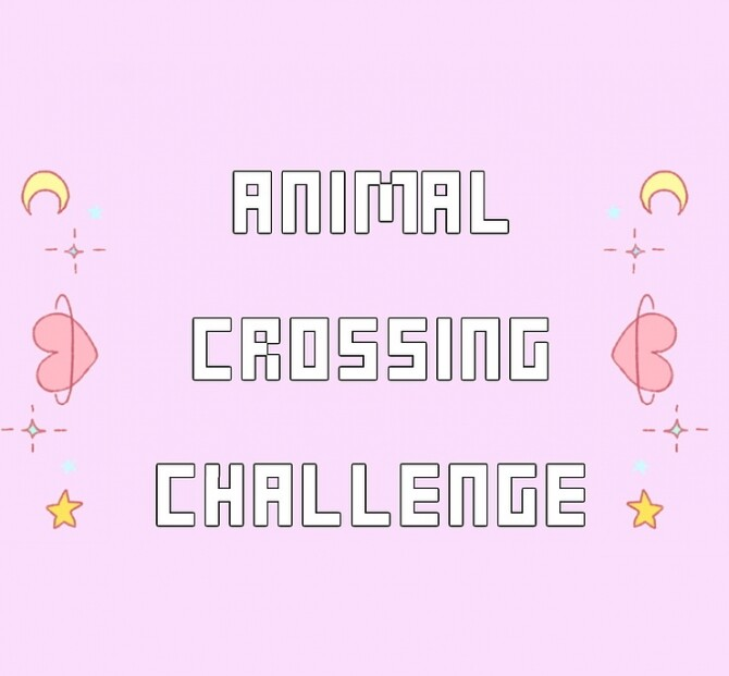 Sims 4 Animal Crossing Challenge at KAWAIISTACIE