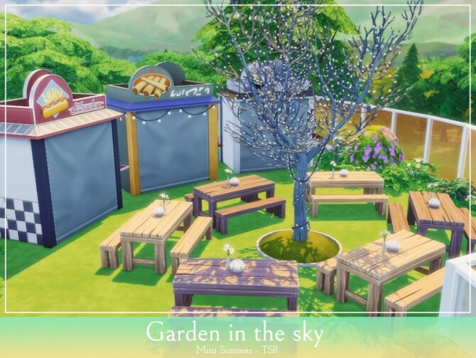 Garden in the sky by Mini Simmer at TSR image 1328 670x503 Sims 4 Updates