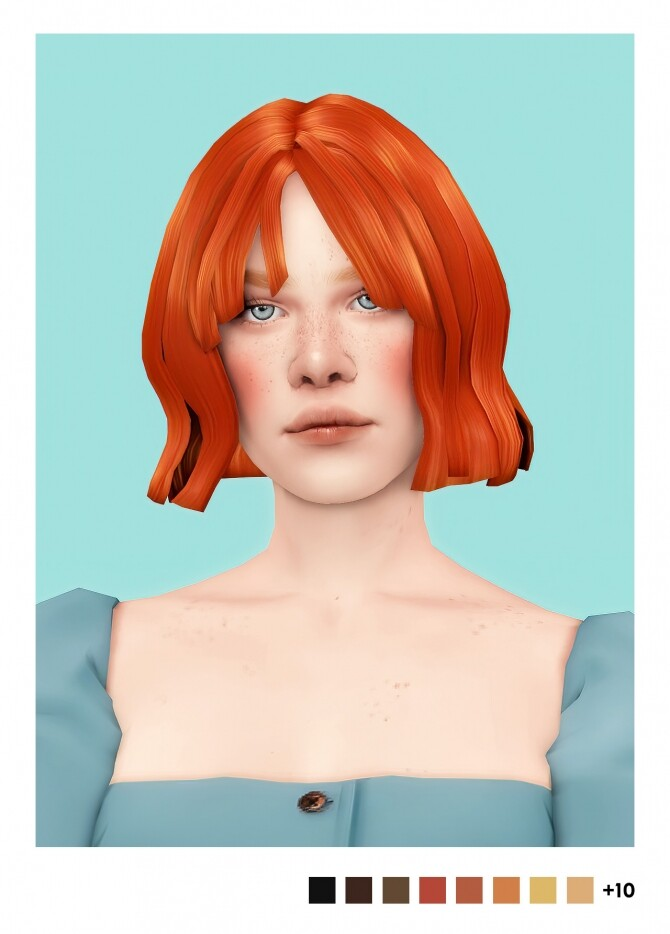 Sims 4 Erin hair v2 at Sulsulhun