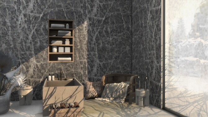 Marble Wall Set at Simspiration Builds image 13413 670x377 Sims 4 Updates