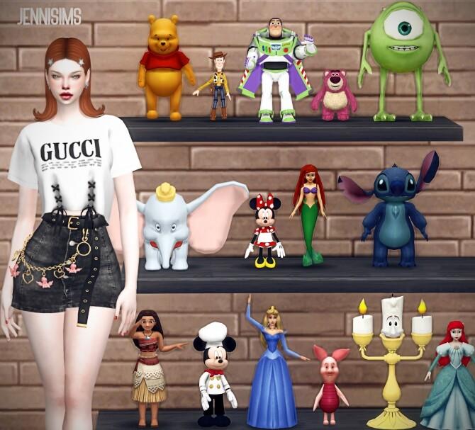 Sims 4 DECORATIVE Toys 15 ITEMS at Jenni Sims