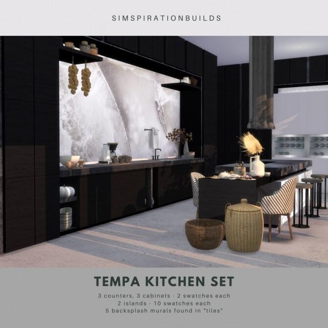 Tempa Kitchen Set at Simspiration Builds image 13713 670x670 Sims 4 Updates
