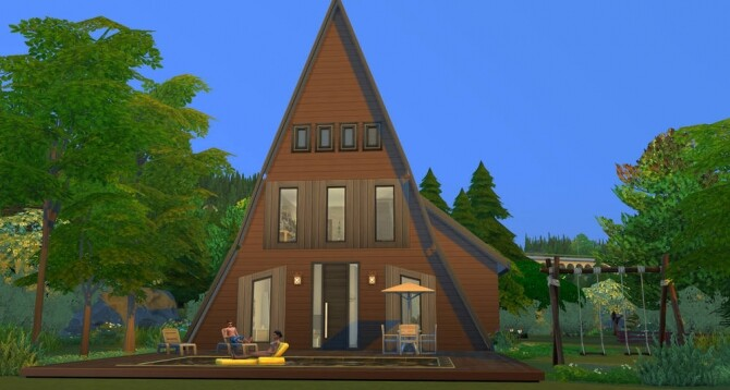 Under the roof house at ihelensims image 13817 670x358 Sims 4 Updates