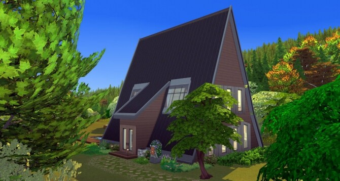 Under the roof house at ihelensims image 13915 670x358 Sims 4 Updates