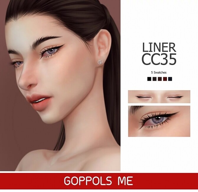 GPME Liner cc35 at GOPPOLS Me image 1409 670x647 Sims 4 Updates