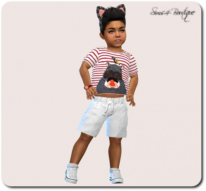 Set for Toddler Boys TS4 at Sims4 Boutique image 14118 670x621 Sims 4 Updates