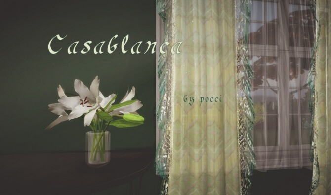 Casablanca set by Pocci at Garden Breeze Sims 4 image 142 670x396 Sims 4 Updates
