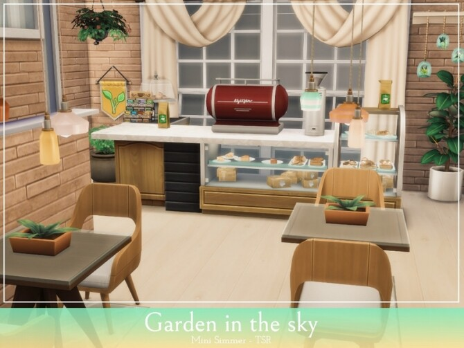 Garden in the sky by Mini Simmer at TSR image 1420 670x503 Sims 4 Updates