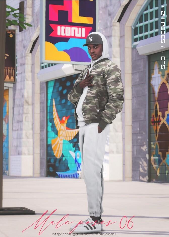Male poses 06 at Helga Tisha image 14214 670x939 Sims 4 Updates
