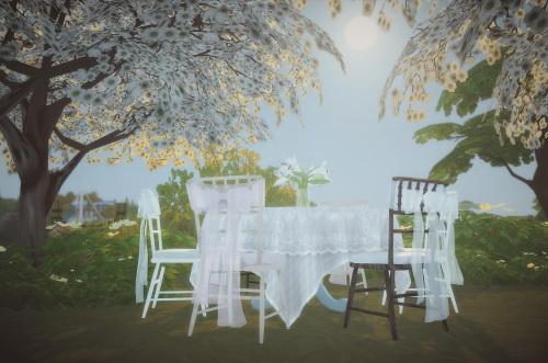 Sims 4 Casablanca set by Pocci at Garden Breeze Sims 4