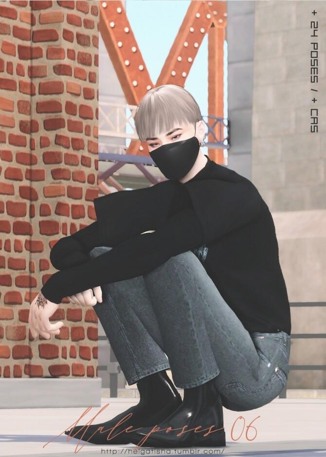 Male poses 06 at Helga Tisha image 14314 670x939 Sims 4 Updates