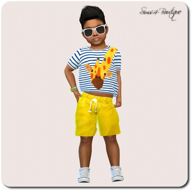 Set for Toddler Boys TS4 at Sims4 Boutique image 14511 670x665 Sims 4 Updates