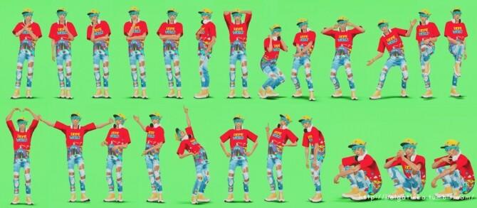 Male poses 06 at Helga Tisha image 14512 670x293 Sims 4 Updates