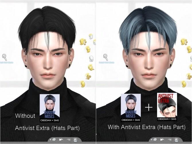 SHADOW MOSES HAIR at Obsidian Sims image 1478 670x503 Sims 4 Updates