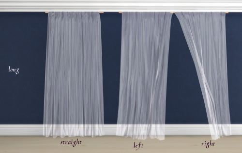 Sheer curtains by Pocci at Garden Breeze Sims 4 image 148 Sims 4 Updates