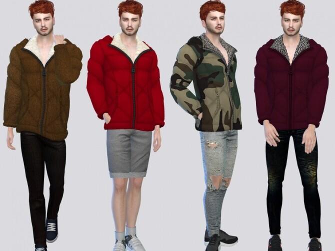 Sims 4 Nano Hoodie Jacket by McLayneSims at TSR