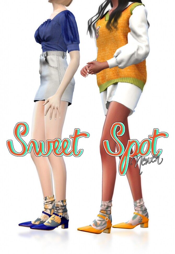 Sweet Spot Bloafer & Mules at NEWEN image 1538 670x969 Sims 4 Updates