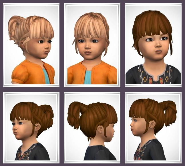 Sims 4 Philippa Toddler Hair at Birksches Sims Blog