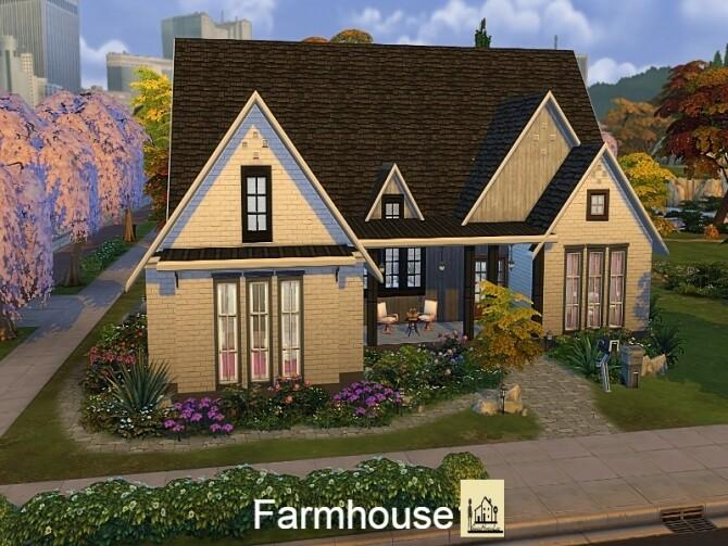 Farm house 1 by GenkaiHaretsu at TSR image 1570 670x503 Sims 4 Updates