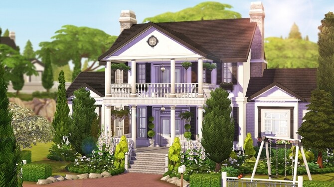 Sims 4 PERFECT LUXURIOUS FAMILY HOME at Aveline Sims