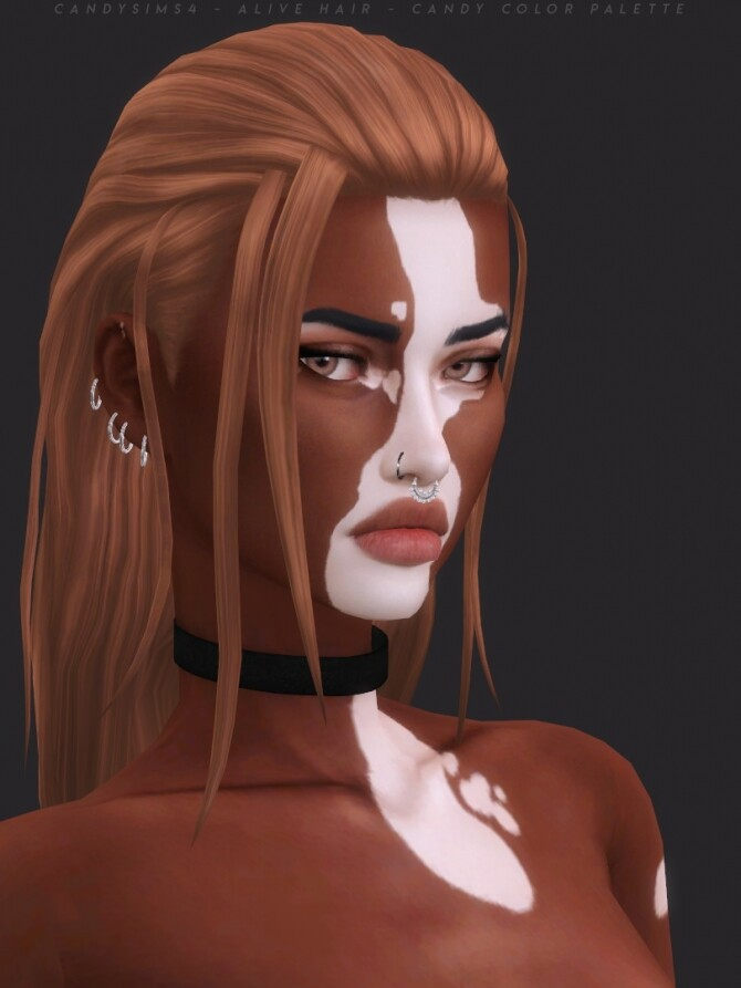 Sims 4 ALIVE HAIR at Candy Sims 4