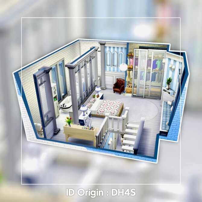 London Bedroom at DH4S image 16110 670x670 Sims 4 Updates