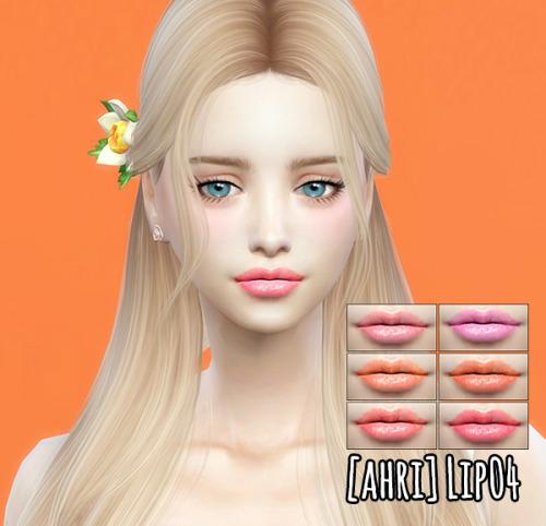 Sims 4 Lips 04 at Ahri Sim4