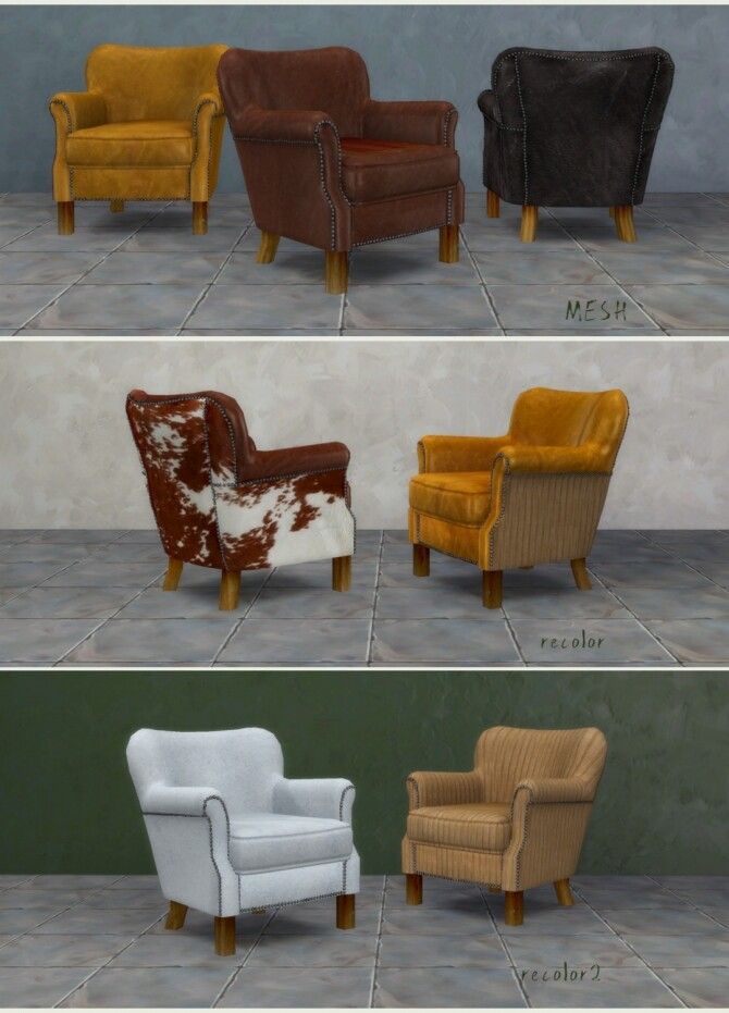 Professor chair by Pocci at Garden Breeze Sims 4 image 166 670x931 Sims 4 Updates