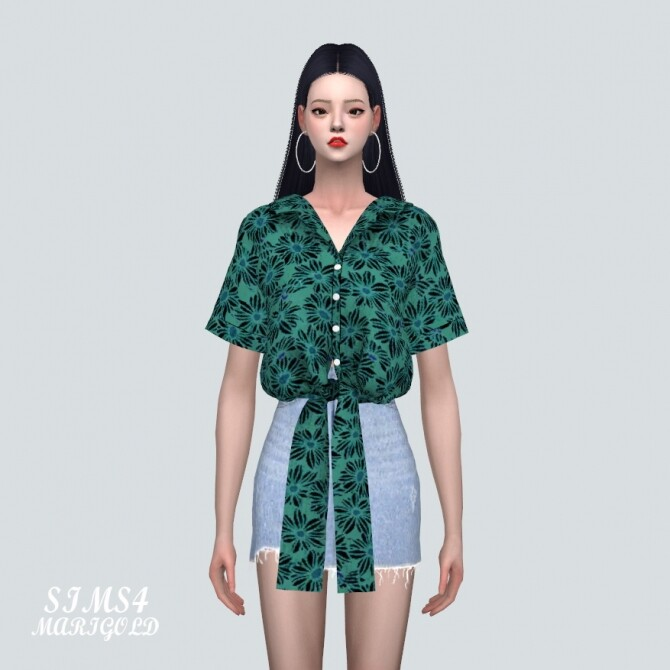 Sims 4 Flower Shirts JJ at Marigold