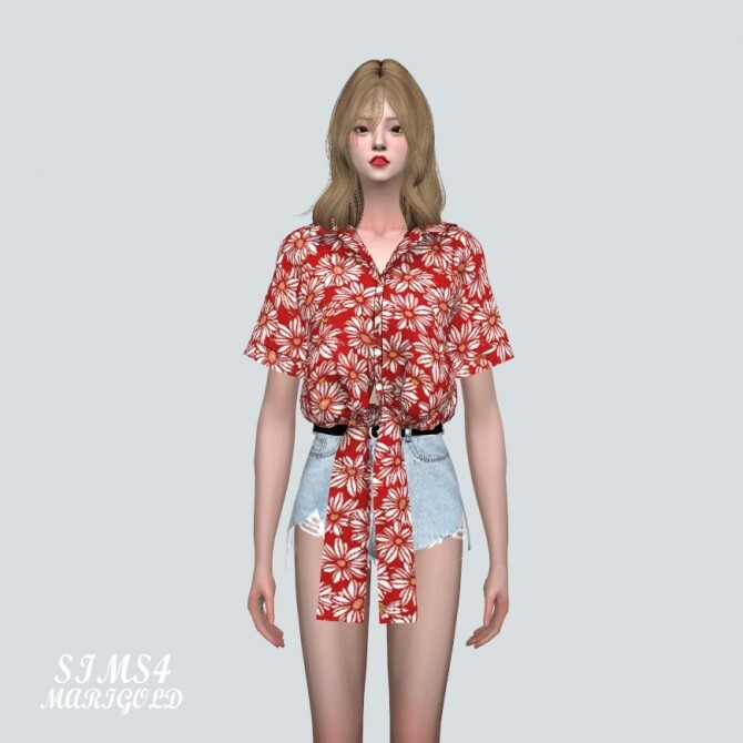 Flower Shirts JJ at Marigold image 1707 670x670 Sims 4 Updates