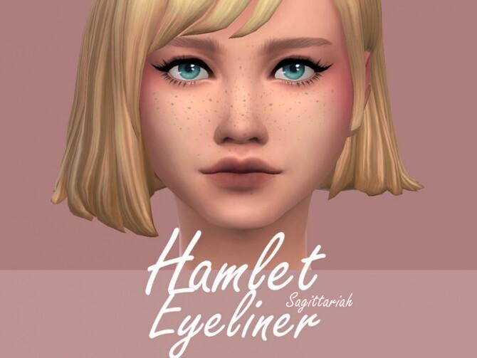 Sims 4 Hamlet Eyeliner by Sagittariah at TSR