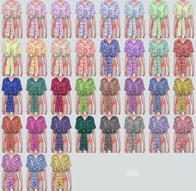 Flower Shirts JJ at Marigold image 17211 670x654 Sims 4 Updates