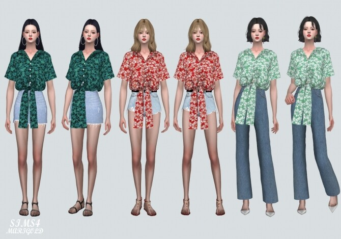 Flower Shirts JJ at Marigold image 17310 670x469 Sims 4 Updates