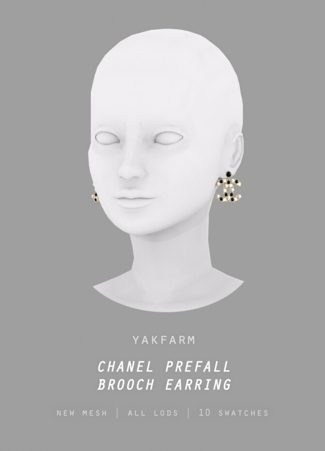 19 Prefall Collection: Brooch & Earrings at Yakfarm image 1745 670x928 Sims 4 Updates