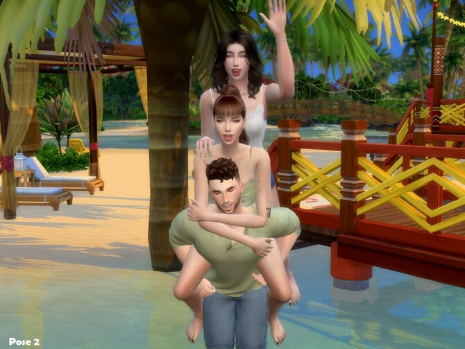 Friendship Pose Pack by Beto ae0 at TSR image 1749 670x503 Sims 4 Updates